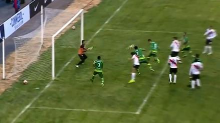 Manuel Corrales marcó el 1-0 para Sport Huancayo ante Nacional Potosí