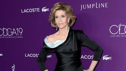 Actriz Jane Fonda revela que fue violada cuando era una niña