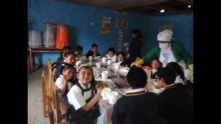 Áncash: Qali Warma garantiza la atención a más de 75 mil escolares