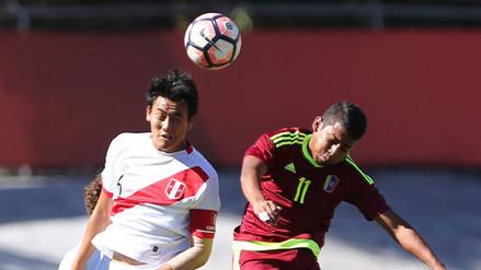 Perú perdió 3-2 con Venezuela y quedó eliminado del Sudamericano Sub 17