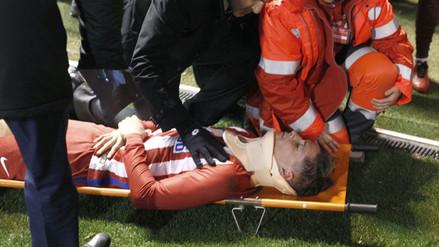 Fernando Torres generó mucha zozobra luego de un terrible golpe en el campo