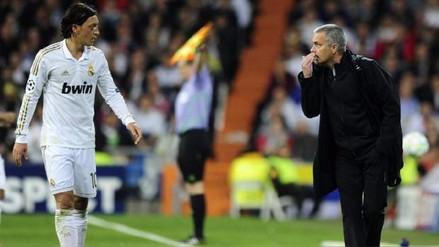Mourinho a Özil en Real Madrid: