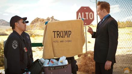 Conan O'Brien y el 'incidente' al momento de cruzar la frontera de México