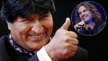Evo Morales agradece a Maná por respaldo a reclamo marítimo