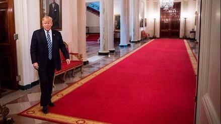 Así es la solitaria vida de Donald Trump en la Casa Blanca
