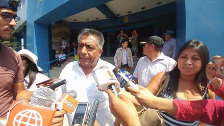 Alcalde de Chiclayo minimiza marcha de Comité Cívico