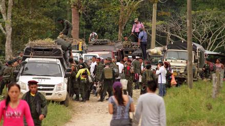Exmilitares expresan preocupación a Santos por seguridad en las zonas veredales
