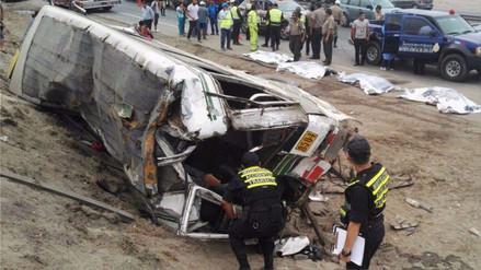 Seis meses de prisión preventiva para responsables de accidente en Panamericana Sur