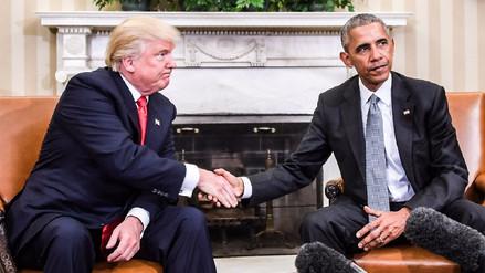 Trump acusó a Obama de grabar sus llamadas telefónicas durante la campaña