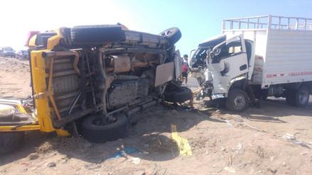 Un muerto y tres heridos dejó accidente de tránsito en Trujillo