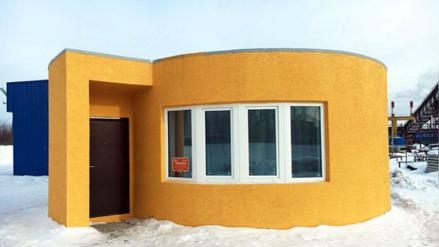 Youtube: construyen una casa de 10 mil dólares con una impresora 3D