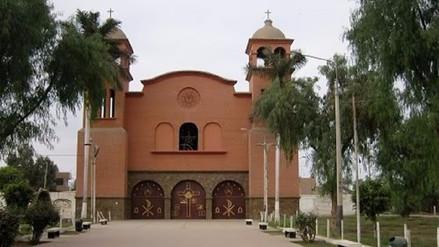 Chiclayo: asaltan iglesia, golpean a párroco y se llevan limosnas