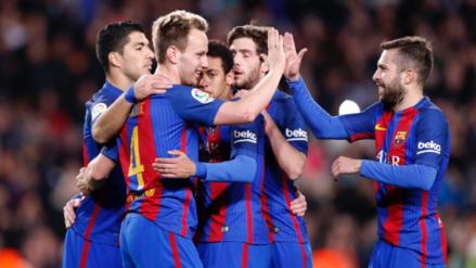 Barcelona aplastó al Celta de Vigo en el Camp Nou con doblete de Messi