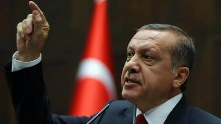 El presidente de Turquía acusó a Alemania de
