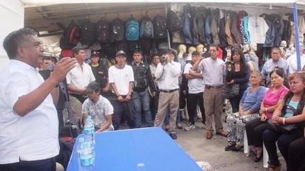 Comerciantes del Modelo buscan nuevamente dialogo con alcalde de Chiclayo