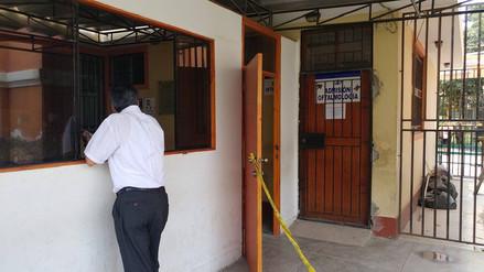 Roban modernos equipos de oftalmología en el hospital Las Mercedes de Chiclayo