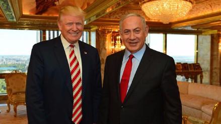 Netanyahu habló con Trump sobre el peligro que representa Irán para sus naciones