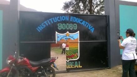 Trujillo: Delincuentes dejan sin sala de cómputo a colegio de Simbal