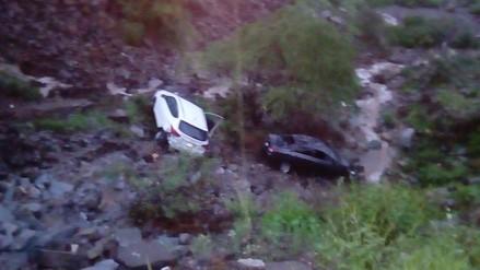 Despiste de dos vehículos deja un muerto en Gallito Ciego