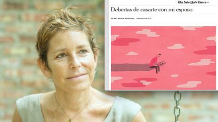 Una escritora con cáncer terminal busca una nueva pareja para su esposo