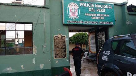 Lambayeque: ambientes de comisaría de Ferreñafe afectados por intensa lluvia