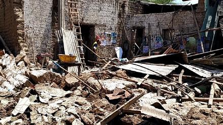 Funcionarios regionales verificaron daños tras lluvias y huaicos