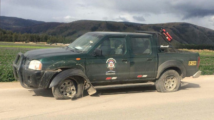 Jauja: auto choca contra camioneta de alcalde de Acolla - RPP Noticias