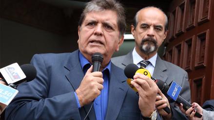 Procuraduría denunció a Alan García por el caso Odebrecht