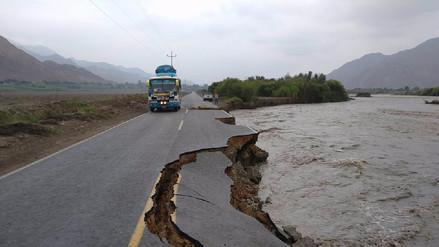 Cascas: lluvias destrozan vía nacional