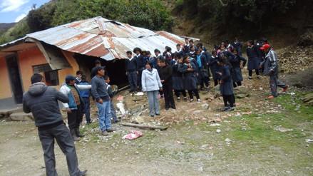 Pobladores de Andamarca aislados por sismo de 4.3 grados