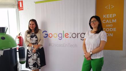 Google dona un millón de dólares para la formación de mujeres en tecnología