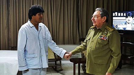 Evo Morales será operado en Cuba por un nódulo en la garganta