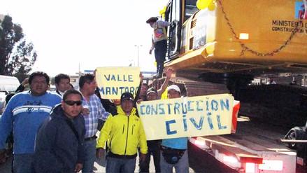 Dirigente de Construcción Civil indica que asesinato de poblador se pudo evitar