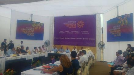 Trujillo: reunión de Macro Región Nor Oriente sin novedades