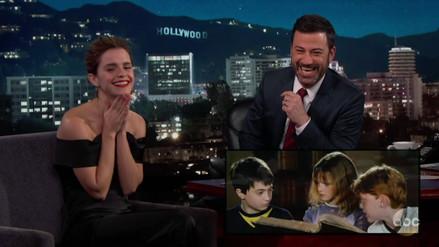 Video | Emma Watson recordó cómo arruinaba las escenas de Harry Potter