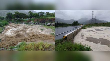 """Cajamarca: Quebrada """"La Vieja"""" se activó e inundó cultivos en Tembladera"""