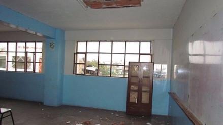 Declaran alto riesgo en colegio de Miraflores