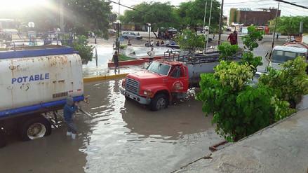 Piura: varios AA.HH. de Sechura se encuentran inundados tras lluvia