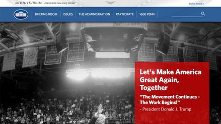 La página web de la Casa Blanca sí contará con una versión en español