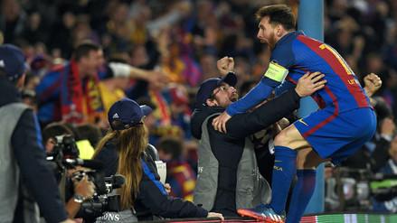 Lionel Messi perdió el control con la remontada del Barcelona