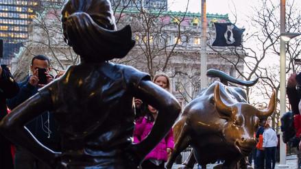 Fotos | La niña de bronce que desafía al toro de Wall Street