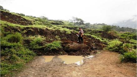Piura: unos 500 pobladores quedan aislados en Las Lomas