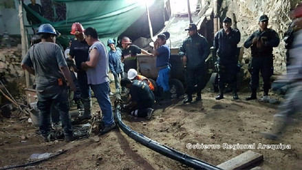 Acarí: recuperan cuerpo de otro minero atrapado en socavón - RPP Noticias