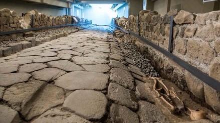 McDonald's abrió un restaurante encima de una calle del siglo II a.C.
