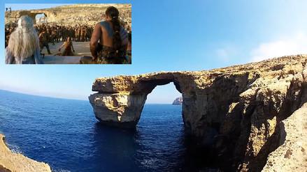 Adiós a la Ventana Azul de Malta, uno de los escenarios de