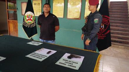 Chiclayo: detienen a delincuente que robó en taller de soldadura