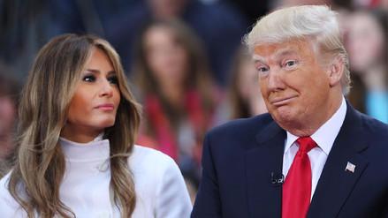 Melania Trump es más popular entre los estadounidenses que su esposo