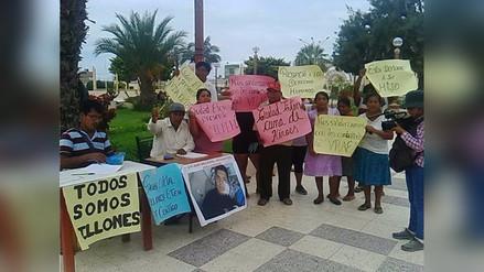 Chiclayo: recogen firmas para pedir el indulto a policía por caso Vraem