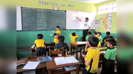 Más de 400 mil escolares inician clases en Cajamarca el 13 de marzo