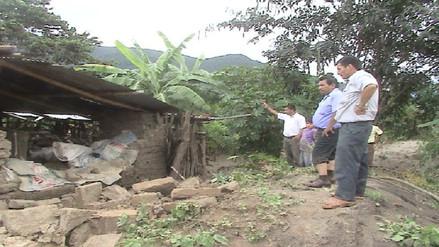 Piura: más de 300 afectados y 120 viviendas colapsadas en Las Lomas